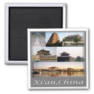 Aimant NC * La CHINE - Xian Chine et armée de terre cuite