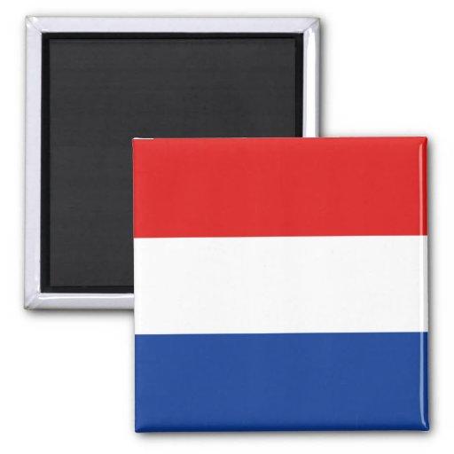 Aimant néerlandais de drapeau