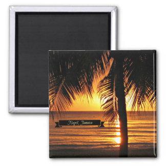 Aimant Negril, coucher du soleil de la Jamaïque