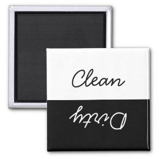 Aimant Nettoyez le lave-vaisselle sale