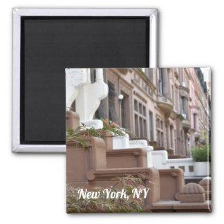 Aimant New York, photo supérieure de maisons de grès de