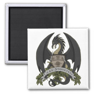 Aimant noir de crête de dragon de Stonefire