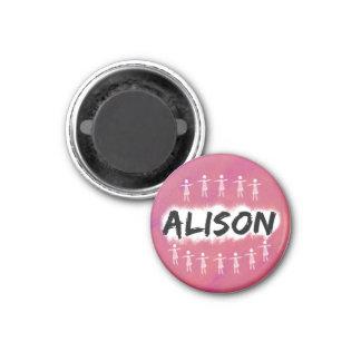 Aimant noir orphelin - Alison