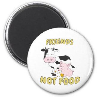 Aimant Nourriture d'amis pas - vache, porc et poulet