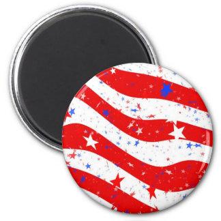 Aimant Nous drapeau américain de drapeau de l'Amérique de