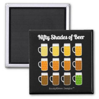 Aimant Nuances astucieuses de la bière