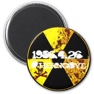 Aimant Nucléaire commémoratif de Chernobyl anti