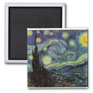 Aimant nuit étoilée, 1889, Vincent van Gogh