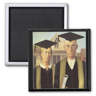 Aimant Obtention du diplôme gothique américaine