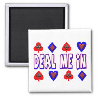 Aimant Occupez-vous moi dans des cartes de jeu