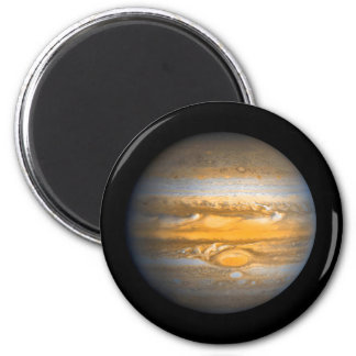 Aimant Oeil du globe de planète de Jupiter rond