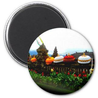 Aimant Original d'éclaboussure de Bali de parapluie