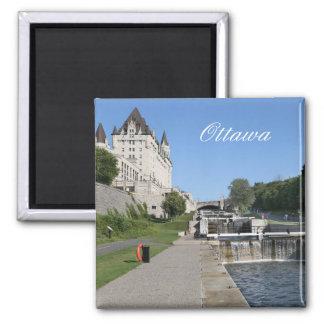 Aimant Ottawa, Canada, canal de Rideau