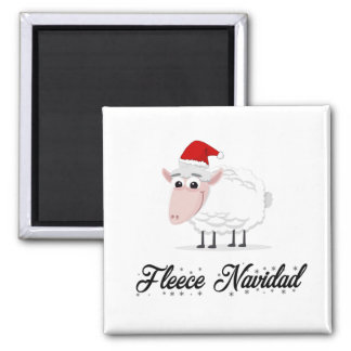 Aimant Ouatine Navidad de moutons de bande dessinée