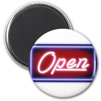 Aimant Ouvrez le signe