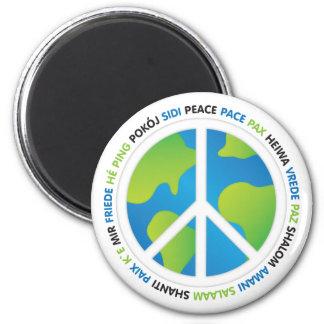 Aimant Paix du monde