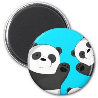 Aimant Pandas mignons