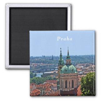 Aimant Panorama de Prague et de l'église de