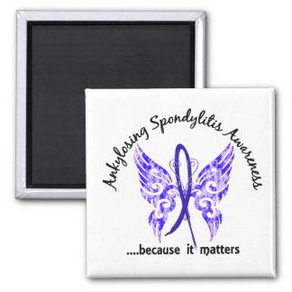 Aimant Papillon 6,1 de spondylarthrite ankylosante