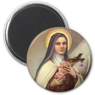 Aimant Pâques religieuse vintage, nonne avec la croix
