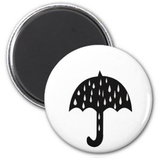 Aimant Parapluie et pleuvoir