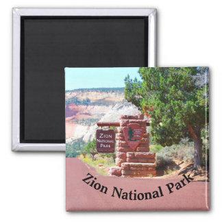 Aimant Parc national Etats-Unis de Zion