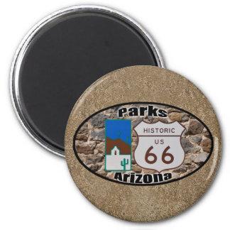 Aimant Parcs historiques Arizona de l'itinéraire 66 des