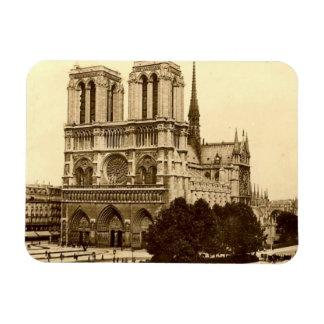 Aimant - Paris - Notre Dame Magnet En Vinyle