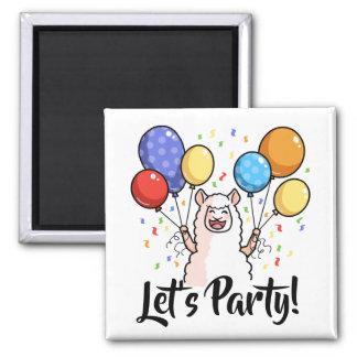 Aimant Party le lama