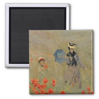 Aimant Pavots sauvages de Claude Monet |, près