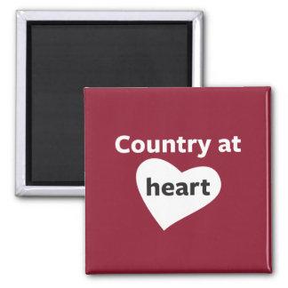 Aimant Pays au coeur