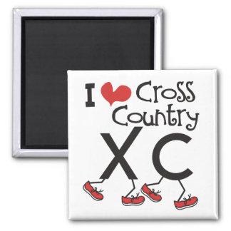 Aimant Pays croisé du coeur I (amour) courant XC