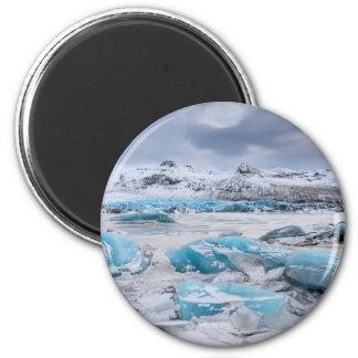 Aimant Paysage de glace de glacier, Islande
