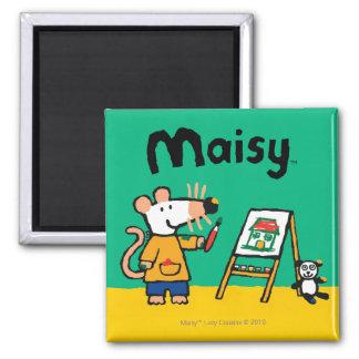 Aimant Peinture avec Maisy !