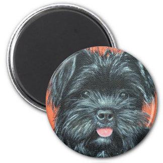 Aimant Peinture de Koda - de Terrier