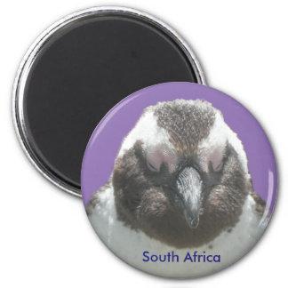 Aimant personnalisable de visage sud-africain de