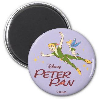Aimant Peter Pan et Tinkerbell