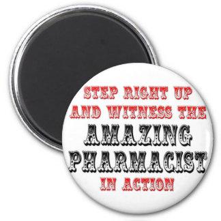 Aimant Pharmacien extraordinaire dans l'action