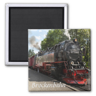 Aimant Photo de chemin de fer de Brockenbahn Brocken