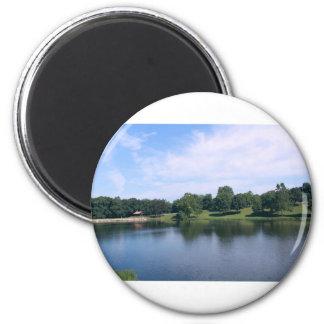 Aimant Photo de lac nature de paysage