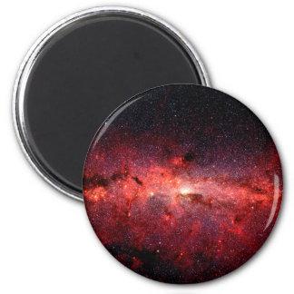 Aimant Photo de l'espace de galaxie de manière laiteuse