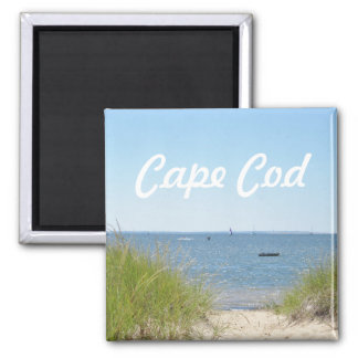Aimant Photo de plage de Cape Cod