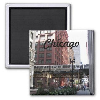 Aimant Photo de voyage de Chicago