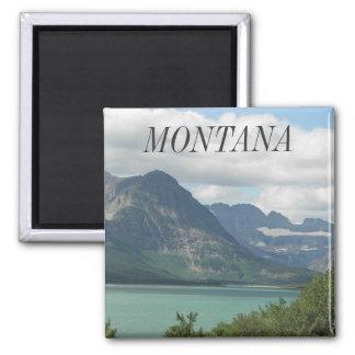 Aimant Photo de voyage du Montana les Rocheuses