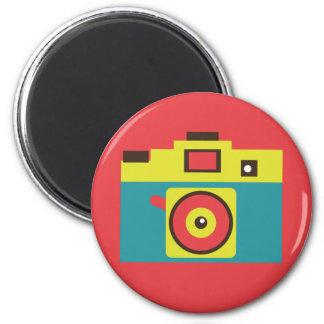Aimant Photographe coloré d'appareil-photo de l'amusement