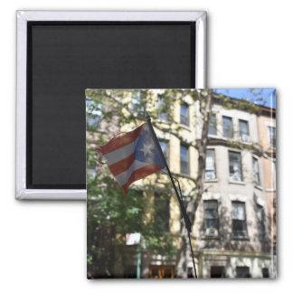 Aimant Photographie portoricaine de drapeau de New York