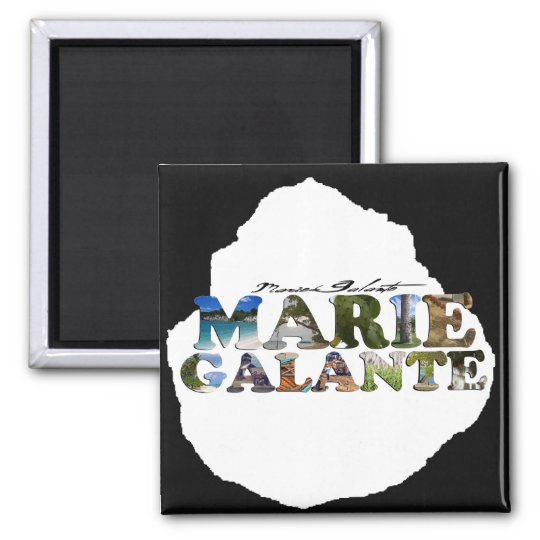 Aimant Photos de Marie-Galante