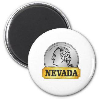 Aimant pièce de monnaie du Nevada