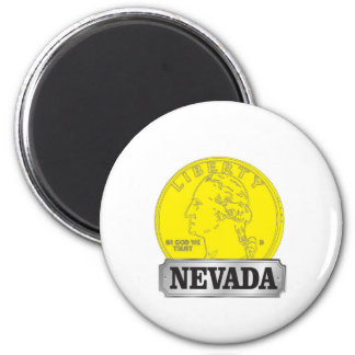 Aimant Pièce d'or du Nevada