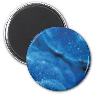 Aimant pierre bleue de fente